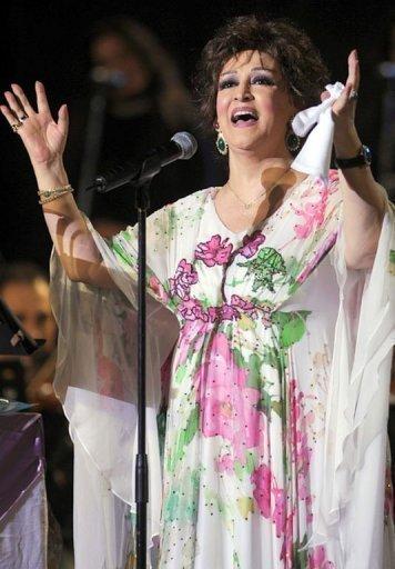 Egypte: dècès de l'Algérienne Warda, une des grandes cantatrices de la chanson arabe