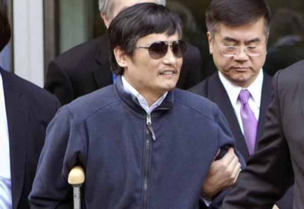 CHINE : Le dissident Chen Guangcheng a quitté Pékin pour les États-Unis
