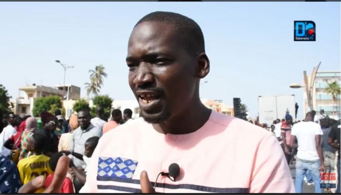 Marche de cet après-midi : Nio Lank répond aux mises en garde du préfet de Dakar