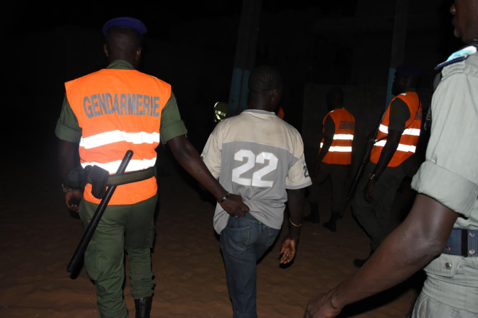 Opérations de sécurisation: 102 personnes interpellées à Ziguinchor, 258 personnes entre Pikine et Guédiawaye