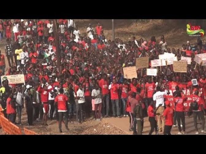 Ziguinchor - Engagements pris par l'Etat: Les étudiants dans la rue pour dénoncer leur non-respect