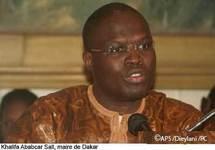 Khalifa Sall en tournée dans les structures de santé de Dakar, mardi