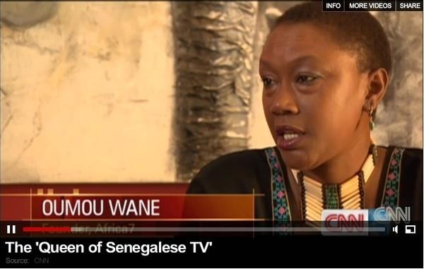 Oumou Wane, la patronne d'Africa7 lance son site d'infos générales