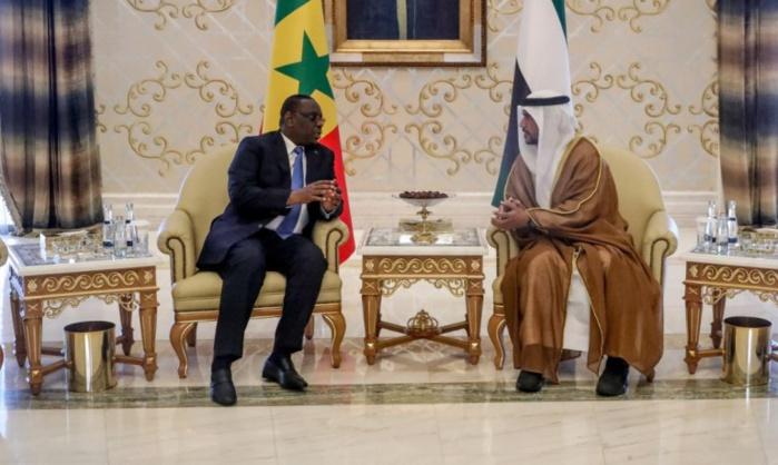 Les images de l'arrivée du Président Macky Sall à Abou Dhabi