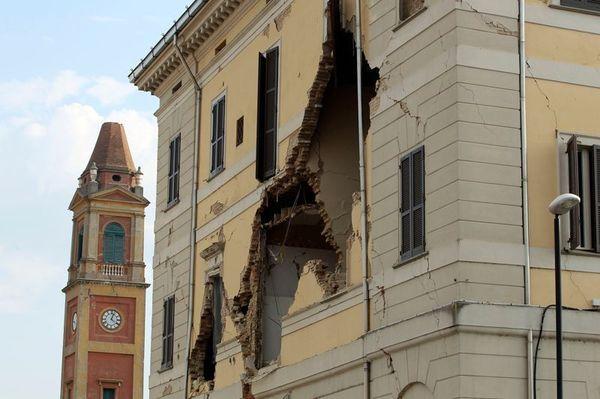 [En image] Un séisme a provoqué d'important dégâts en Italie