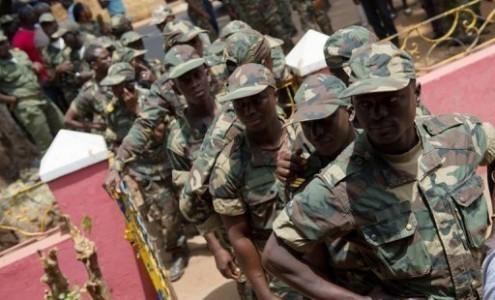 Un détachement sénégalais en Guinée-Bissau, dans les 72 heures