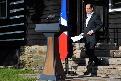 Hollande conclut son premier marathon diplomatique