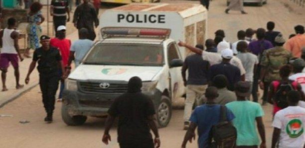 Opération de sécurisation à Rufisque : Plus 185 personnes arrêtées.