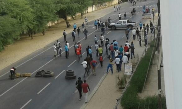 Mort de Lamine Koïta : les jakartamen ont délogé les élèves du lycée Coumba Ndoffène Diouf, ce matin