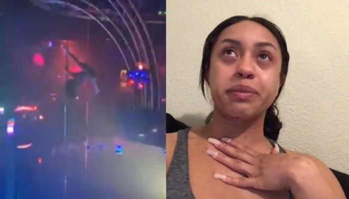 USA: Une strip-teaseuse chute de 6 mètres et se casse la mâchoire…La suite vous surprendra !