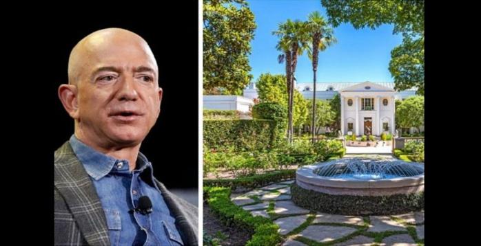 Jeff Bezos achète la propriété la plus chère de Los Angeles pour un montant record