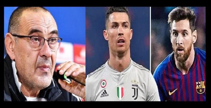 Maurizio Sarri réagit à la rumeur annonçant Lionel Messi à la Juventus