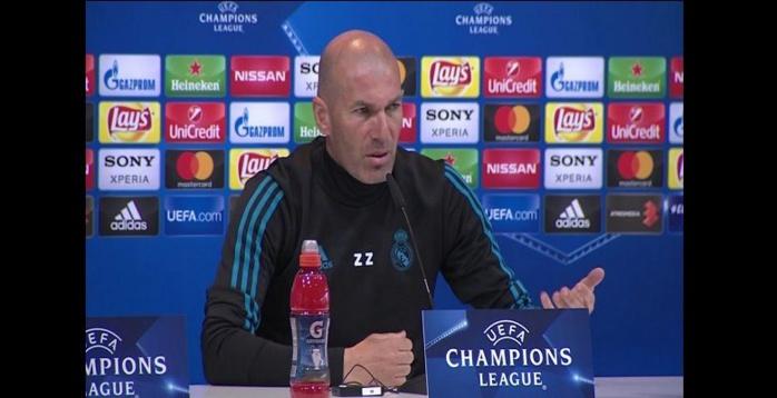 Zinedine Zidane réagit à la suspension de Manchester City