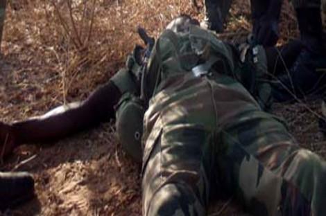 Casamance : deux soldats tués et un autre blessé à Effock (DIRPA)