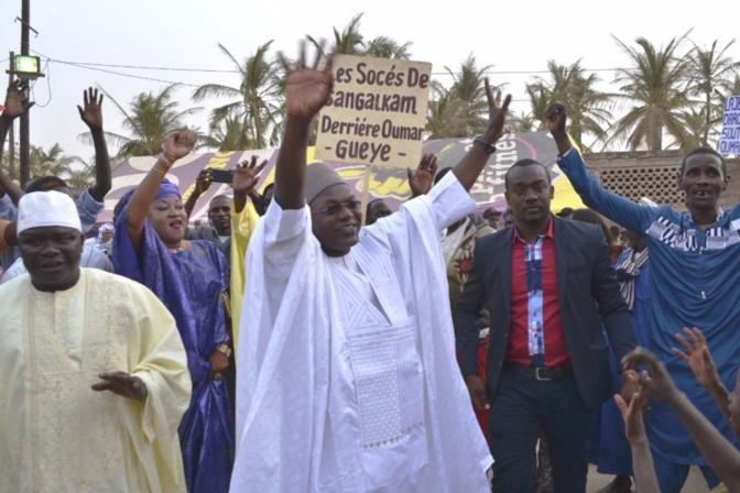Sangalkam: le ministre Oumar Guèye et ses militants en campagne