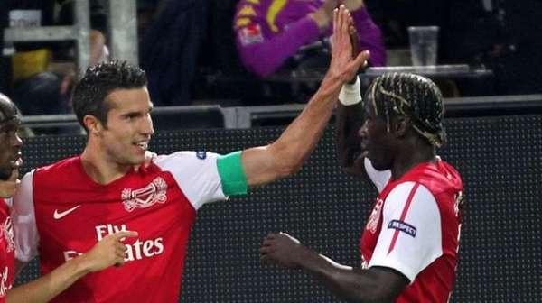Arsenal : Sagna pense connaitre l'avenir de Robin Van Persie