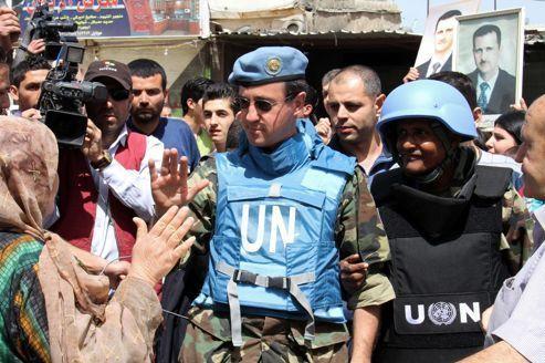 SYRIE : Les observateurs de l'ONU se rendent dans la région de Houla
