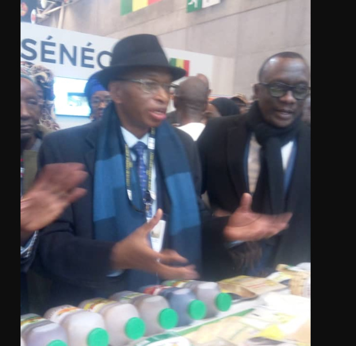 Salon de l'agriculture de Paris : Le ministre de l'Agriculture se félicite de la qualité des produits « made in Sénégal »