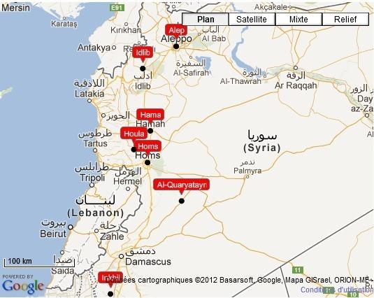 Syrie : des blindés de l'armée pour la première fois à Alep