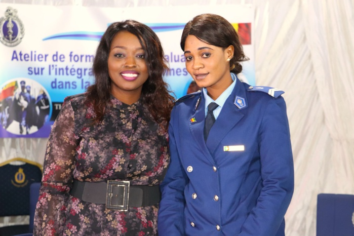 PHOTOS - Distinction: Amy Sarr Fall honorée par les femmes gendarmes