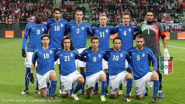 Euro 2012 : l'Italie dévoile sa liste des 23 !