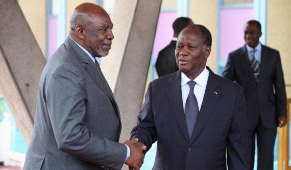 """Résolution de la crise malienne / Cheick Modibo Diarra après une rencontre avec Alassane Ouattara: """"La force sera le dernier recours"""""""