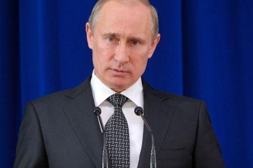 Poutine rejette d'avance les pressions sur le dossier syrien