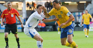 Le flip-flap de Zlatan Ibrahimovic