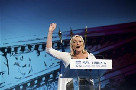 """""""Nous pouvons décrocher des sièges"""", dit Marine Le Pen"""