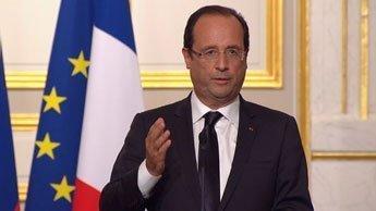 """Pour François Hollande, la paix en Syrie passe par """"le départ de Bachar al-Assad"""""""