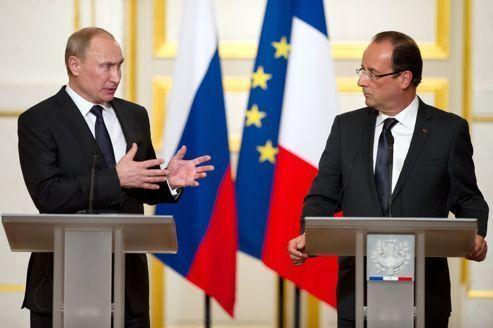 Syrie : dialogue musclé entre Hollande et Poutine