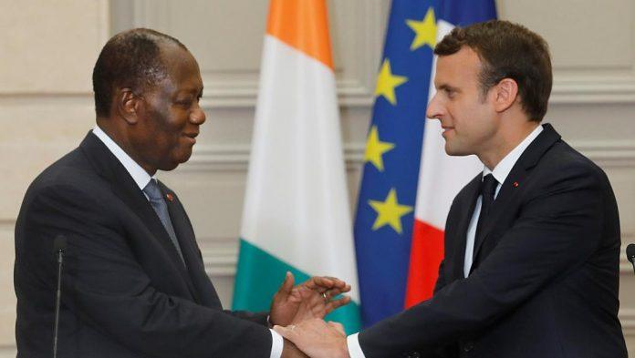 Macron félicite Ouattara, « homme de parole et homme d'État »