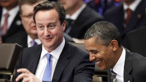 """Obama et Cameron pour """"un plan immédiat"""" dans la zone euro"""
