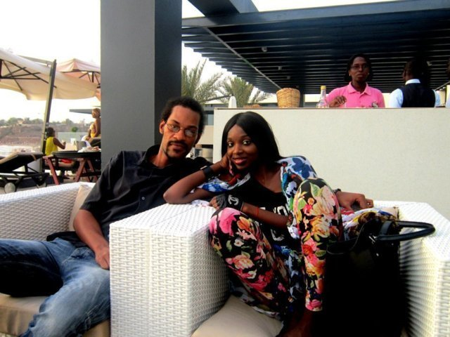 Maxim de Nostalgie en compagnie de Iman de Channel à Dakar