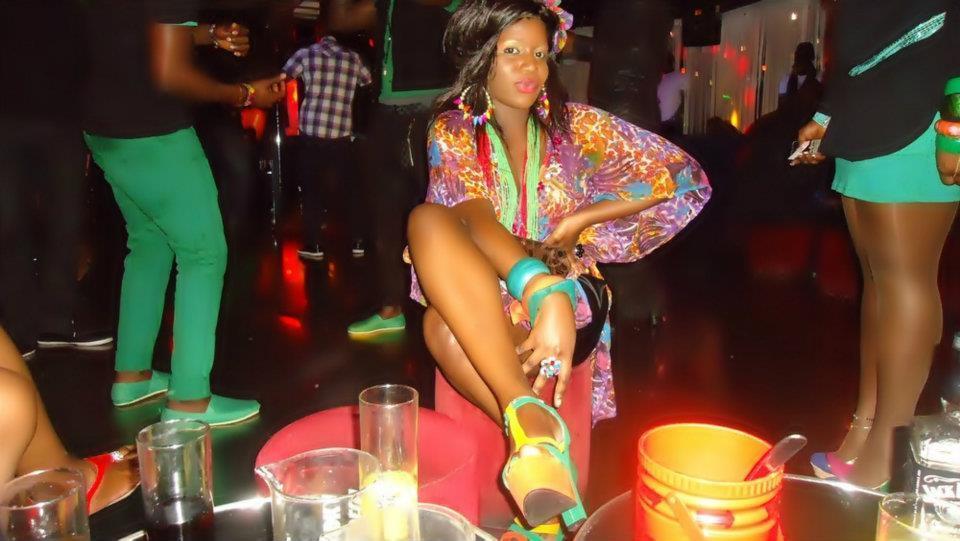 Mamilajolie Diagne la jet setteuse de Paris en mode VIP