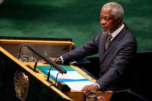 Syrie: Kofi Annan «horrifié» par le massacre d'al-Qoubir