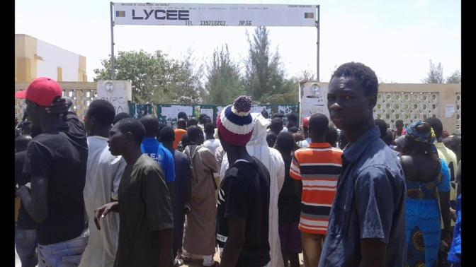 Coronavirus: les élèves du lycée de Mbacké où sont inscrits les enfants du ''modou-modou'', décrètent une grève illimitée