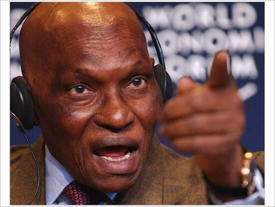 Abdoulaye Wade le mauvais démocrate, une plaie en putréfaction qui dérange la tranquilité de la république.