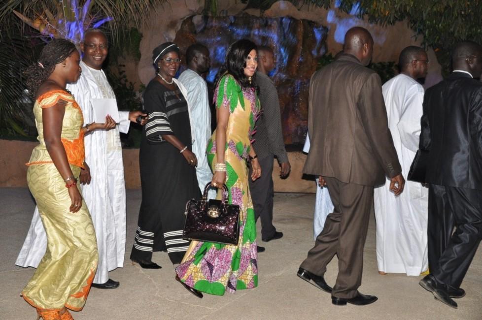 Diouma Dieng Diakhaté et Amsatou Sow Sidibé ont accueilli Leila Lopez