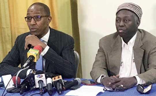 Interdiction des manifestations publiques : Mamadou Lamine Diallo et Abdoul Mbaye approuvent