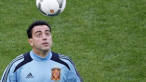 """Euro 2012: premier tour""""Xavi: """"Le catenaccio n'existe plus"""""""
