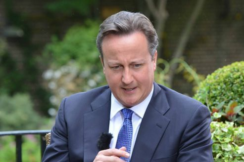 David Cameron oublie sa fille de huit ans dans un pub
