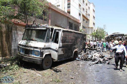 Syrie : les Bérets bleus entrent dans le village martyr