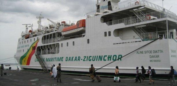 Coronavirus - Bateau Aline Sitoé Diatta: Les passagers confinés pour un cas suspect