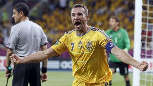 Euro 2012 : un Shevchenko de gala offre la victoire à l'Ukraine devant la Suède !