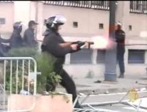 Tunisie: violences et affrontements nocturnes à Tunis, 46 arrestations