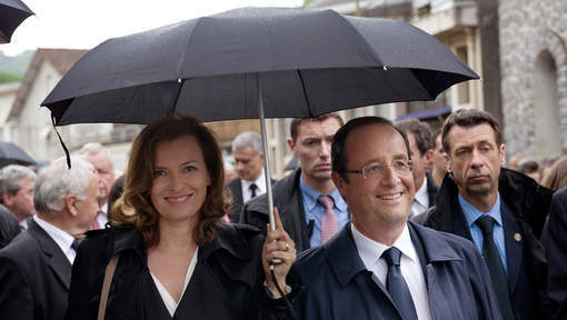 Valérie Trierweiler soutient l'adversaire de Ségolène Royal