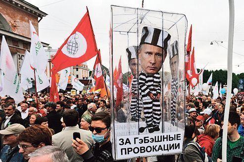 À Moscou, la rue défie à nouveau Poutine