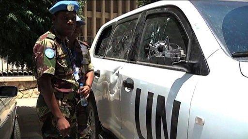 REGARDEZ. Syrie : les observateurs de l'ONU essuient des tirs