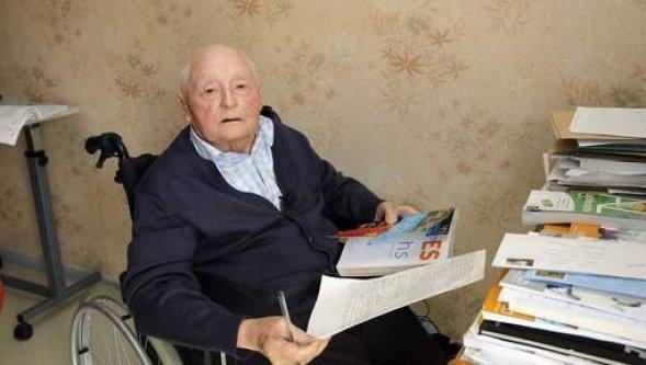 Il passe son bac à 87 ans